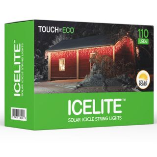 Touch of ECO Icelite Solar Icicle String Light