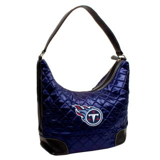 Little Earth NFL Tennessee Titans Quilted Hobo Handbag   15865774