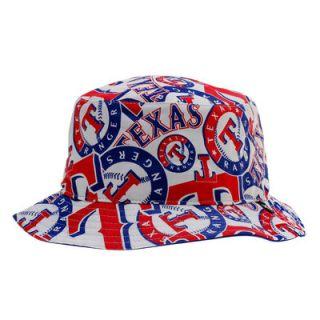 Texas Rangers 47 Bravado Bucket Hat   White