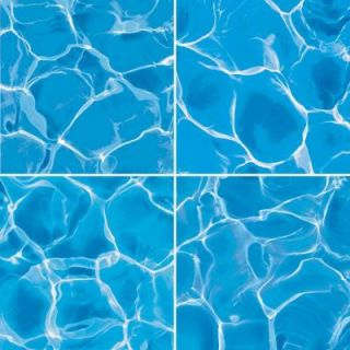 imagine tile Water Series 16 in. x 16 in. Matte Finish Ceramic Floor and Wall Tile (7.1 sq. ft. / case) 8020