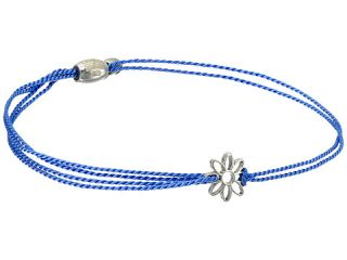 Alex and Ani Kindred Cord Daisy Blue Sterling Rafaelian Silver Bracelet
