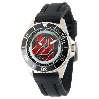 Mens Marvel Ant   Man Honor Stainless Steel Watch   Black
