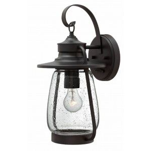 "Hinkley Lighting 2094SB LED LED Wall Light, 15W Calistoga 17.75""H x 9""W Outdoor   Spanish Bronze"