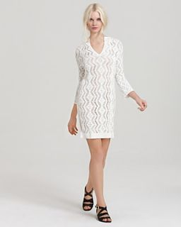 Rachel Zoe Dress   Sloane Flat Collar Crochet