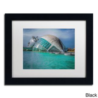 Erik Brede Architecture Valencia III Framed Matted Art   16362436