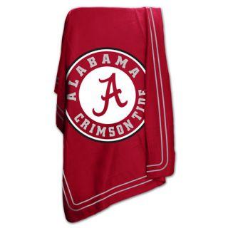 Logo Chairs NCAA University of Alabama Classic Fleece Throw