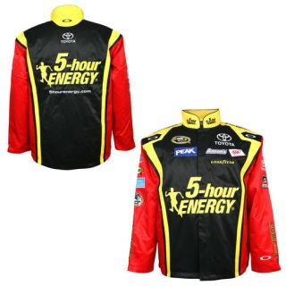 Chase Authentics Clint Bowyer 2014 Official Replica 5 hour Energy Jacket   Black/Red