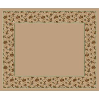 Milliken Heirloom Rectangular Cream Transitional Tufted Area Rug (Common: 10 ft x 13 ft; Actual: 10.75 ft x 13.16 ft)