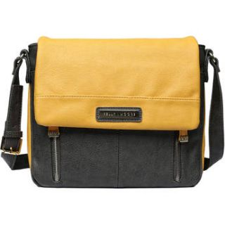 Kelly Moore Bag Luna Messenger Bag (Mustard) KMB LNA GRY/KM 6000