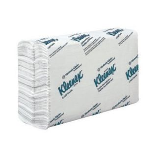Kimberly Clark Kleenex 1 Ply Paper Towels   150 per Pack / 16 Packs