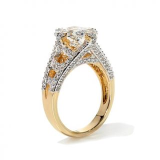 Victoria Wieck 3.7ctw Absolute™ Radiant Cut Center Ring   7837063