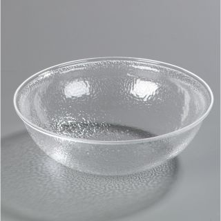 224 Oz. Shower Round Pebbled Bowl by Carlisle Food Service Products