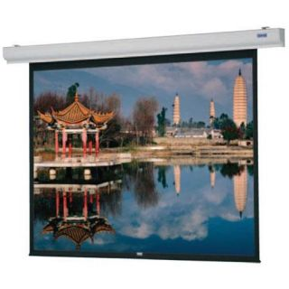 Da Lite Designer  Electrol Video Format Electric Wall and Ceiling Projection Screen, 57x77, High Contrast Matte White Surface 92667