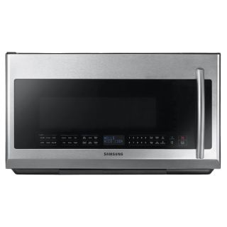 Samsung 2.1 cu ft Over The Range Microwave with Sensor Cooking Controls (Stainless Steel) (Common: 30 in; Actual: 29 in)