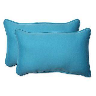 Pillow Perfect Veranda Indoor/Outdoor Throw Pillow (Set of 2); 11.5 H x 18.5 W x 5 D