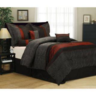 Corell 7 Piece Bedding Comforter Set