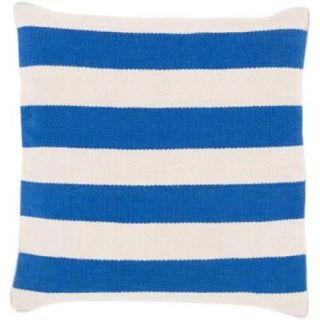 Surya Simple in Stripe Cotton Throw Pillow