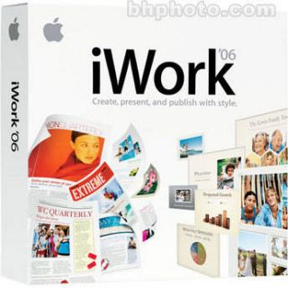 Apple  iWork 06 Family Pack Software MA224Z/A