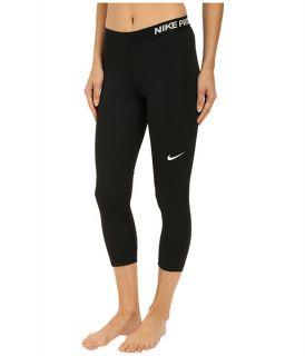 Nike Pro Cool Capris Black/White