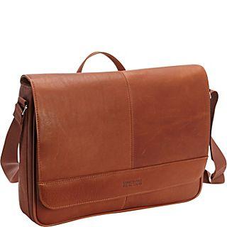 Kenneth Cole Reaction Risky Business Leather Messenger Bag