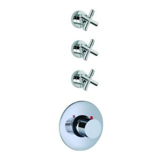 Fima by Nameeks S5333 3 Maxima Thermostatic Shower with 3 Volume Control Handles