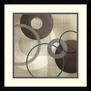 Tandi Venter Hoops n Loops I Framed Art Print 17 x 17 inch