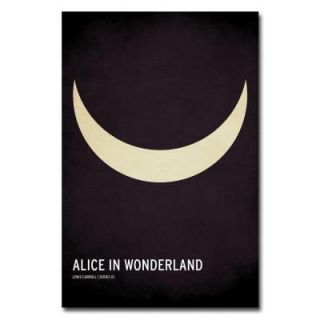 Trademark Fine Art 24 in. x 36 in. Alice in Wonderland Canvas Art CJ0001 C2436GG