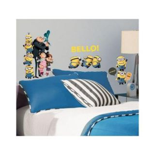 5 in. x 11.5 in. Despicable Me 2 Peel and Stick Wall Decals RMK2080SCS