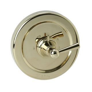 Cifial 293.616.X10 Sea Island Lever Handle Thermostatic without Control Valve Trim in PVD Brass