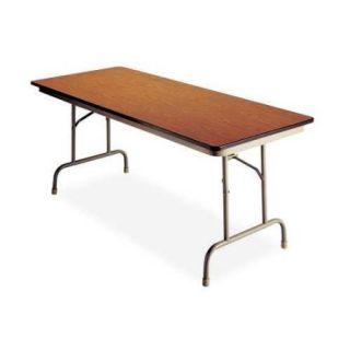 """B093672 Folding Table, 72""""Wx36""""D, Walnut"""