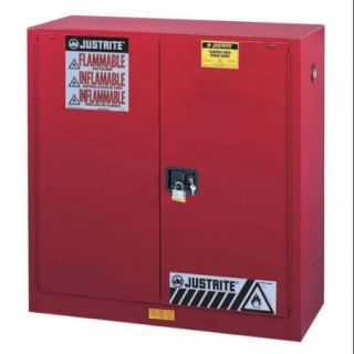 Flammable Liquid Safety Cabinet, Red ,Justrite, 893001