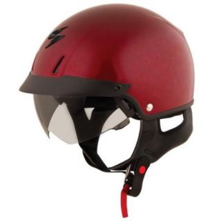 Scorpion EXO C110 Solid Helmet Wine/Red MD