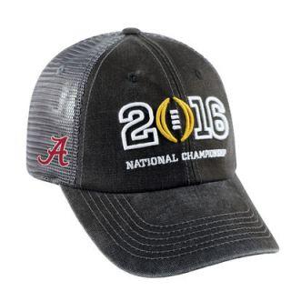 Alabama Crimson Tide Top of the World 2016 College Football Playoff National Championship Game Bound 1Fit Flex Hat   Black