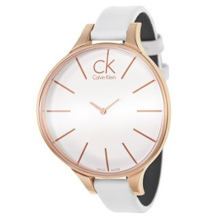 Calvin Klein Womens K2B23601 Glow Rose Gold PVD Stainless Steel