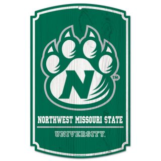 Northwest Missouri Bearcats 11 x 17 Tier Wood Sign