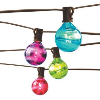 Better Homes and Gardens Marble Globe 10 Count String Light Set