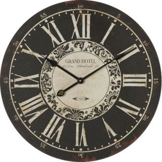 Darby Home Co Oversized 23.25 Grand Hotel Wall Clock