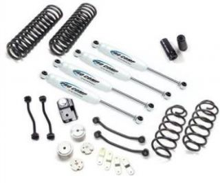 Pro Comp Suspension   Pro Comp Suspension 4 Inch Stage I Lift Kit K3089B   Fits 2007 to 2014 JK Wrangler, Rubicon and Unlimited