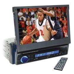 Nitro 7 inch Motorized In dash Touch Screen Monitor, AM/FM MPX,DVD/CD