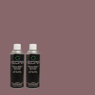 Hedrix 11 oz. Match of MQ1 38 Smoked Mulberry Gloss Custom Spray Paint (8 Pack) G08 MQ1 38