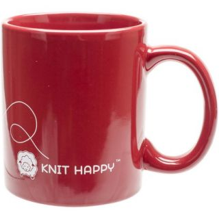 God Family Knit Mug, 12oz, Red