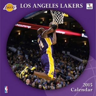 Los Angeles Lakers 2015 Mini Wall Calendar