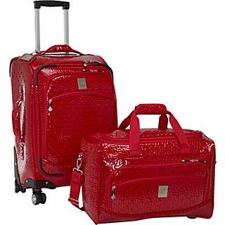 Jenni Chan Bows 2 Piece Luggage Set