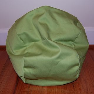 Ahh Products Lil Me Doll 14 inch Organic Cotton Lime Bean Bag Chair