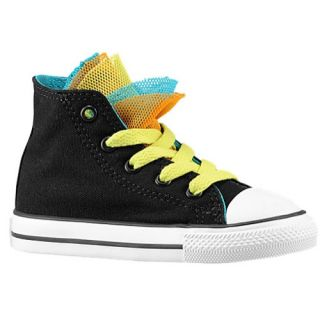 Converse All Star Party Hi   Girls Toddler   Basketball   Shoes   Black/Dolphin/Plastic Pink