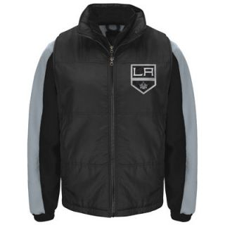 Los Angeles Kings G III Sports by Carl Banks 3 in 1 Systems Jacket   Black