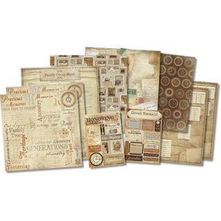 Karen Foster Honoring The Past Scrapbook Kit