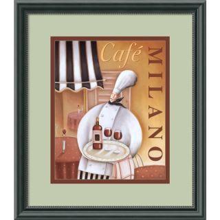 Jo Parry Cafe Milano Framed Art Print   11978311