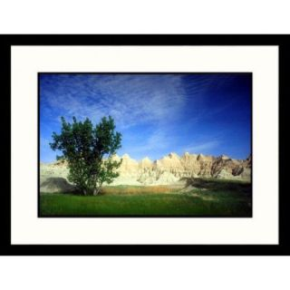 Great American Picture Landscapes 'Badlands Wall, Badlands   New Mexico, South Dakota' by Jack Jr Hoehn Framed Photographic Print