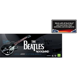 The Beatles Rock Band (Xbox 360)   Wireless Gretsch Duo Jet Guitar Controller